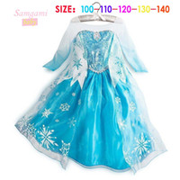 TuTu Summer tutu summer dress 2014 girl party dress anna princess costume baby girls elsa dress tutu new frozen dress