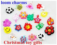 Wholesale 500pcs Rainbow Loom DIY loom charms mixed style colorful silicone band Children s Bracelets PACK gifts in Stock