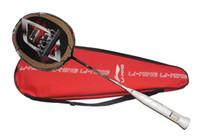 Wholesale lining N90 badminton rackets n90iii high end badminton racquet free shipment