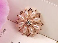 Wholesale mm Flatback Rhinestone Button For Hair Flower Wedding Invitation BXF05