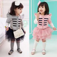 Wholesale Direct child princess skirt suit children suit FG0090 Banukalun uniform wind princess skirt suit children