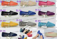 Wholesale DORP SHIPPING New Women s Classic Lace casual canvas shoes Sunflower Crochet EVA stripes canvas Lovers Flat shoes colors mix style pairs