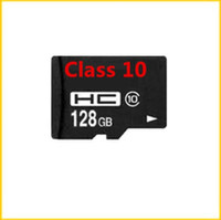 Wholesale 128GB Class Micro SD TF Memory Card Free SD Adapter Retail Blister Package microSD SDHC G SD Card for Android Phones DHL freeshipping