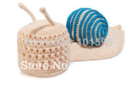 Unisex Summer Crochet Hats Lovely Baby Costume Photo Photography Prop Toddler Knit Crochet Beanie Animal Hat Cap 2pcs lot Free Shipping