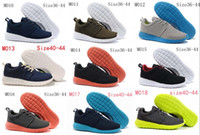 Wholesale 2014 Latest Roshe Styles Vintage Running shoes For sale Summer London Olympic Run Barefoot womens and mens shoes Lightweight NK quality