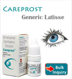 Wholesale Bimatoprost Ophthalmic Solution Generic Latisse SEALED Authentic CAREPROST EYELASH GROWTH SERUM LIQUID Eyelashes Eyebrow Grower Long Eyelas