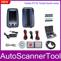 Code Reader For BMW Autel 2013 New Arrival IT2 Toyota Intelligent Tester 2 Auto Scanner Tool For Lexus Suzuki TOYOTA 2013.04 Tester2 DHL Free