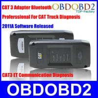 Wholesale Super Functinal For CAT Heavy Duty Truck CAT3 A Released Multi Language CAT III ET Adapter Bluetooth Wireless p n