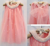 Korean Style Children Girls Dresses Sleeveless Chiffon Dress...