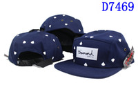 Wholesale New Diamond Snapback cap caps thusands styles of hat panel diamond suply Co hats Adjustable Mens womens Snapback Hat hats