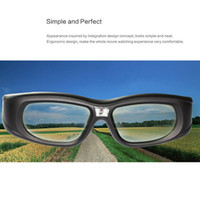 Wholesale 2014 New arrival Active Shutter GONBES D Glasses for DLP LINK D Projector