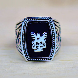 High quality Free Shipping Handmade Antique Vampire Diaries Jeremy Lapis 18K Gold Filled GP Men Ring Size 8-12 Gift