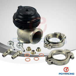 Wholesale TIAL MVS mm BLACK WASTEGATE WITH V BAND AND FLANGES MV S