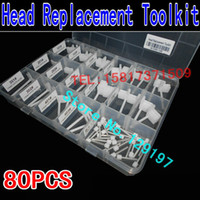HDD tools 2.5Hard disk 3.5Hard disk  SD 80pcs HDD Head Replace Tool Kit Head Comb Suite Hard disk open tool Hard drive head replacement tool Hard drive head comb