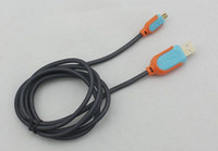 Wholesale Steel Mesh Micro USB Charger Cable M FT Braided Nylon pin V8 Data Sync Charging Cord Adpter Line For Samsung S3 S4 HTC M7 M8 Sony Z1 Z2
