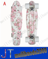 long board - Best New version quot Printing Custom Penny style skateboard long board complete MYY1606