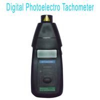 Wholesale Non Contact Laser Tachometer Digital Photo Laser Tachometer RPM Tester DT2234C