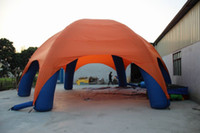 Wholesale 10m diameter Oxford cloth nylon spider tent inflatable outdoor shelter tent for wedding summer holiday activity or other events