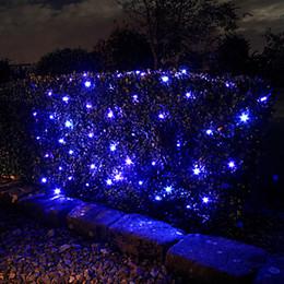 led fairy net lights Canada - new year! 2M*1.5M 100 Solar LED