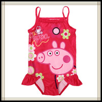 Girl One-piece 2/3y-3/4y-4/5y-5/6y--7/8y Children new fashion Girl Kids' Swimsuit Swim Wear for Girls Swimming Wear Peppa pig Princess Swim wear R4752