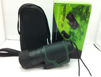 Wholesale supply digital black green optional night vision goggles times magnified