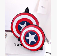 Wholesale Captain America Shield Backpack New Arrival PC B7