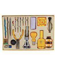 Wholesale 20 Piece Horologe Watch Link Remover Repair Set Kit Tools Watch Case Opener Repair Tools Functional Watch Strap Regulator Kit