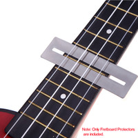 bass guitar frets - 2pcs set Bendable Stainless Steel Fretboard Frets Protector Fingerboard Guards for Guitar Bass Luthier Tool Tools Top Quality I318