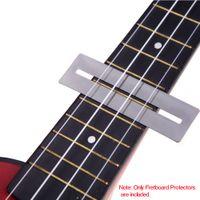Pieghevole in acciaio inossidabile Fretboard Frets Protector Fingerboard Guardie per basso Liutaio strumenti strumento superiore I318