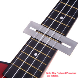 Wholesale 50 set set Bendable Stainless Steel Fretboard Frets Protector Fingerboard Guards for Guitar Bass Luthier Tool Tools Top Quality I318