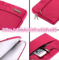Wholesale Factoy Price fashion popular Hot Laptop Bag briefcase Notebook handbag Nylon Case Cover Protector For cover case for Mac Book