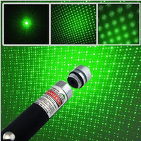 Wholesale Good mW nm Red Green Blue violet Light in Beam Laser Pointer Pen With Star Cap For SOS Mounting Night Hunting Teaching Xmas Gifts
