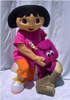 Dora l'exploratrice, adulte costume de mascotte vêtements de DORA rôle de peluche de dessin animé vêtements jouer