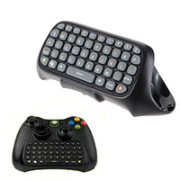 Wholesale Freeshipping High Quality Keyboard Keypad Text Messenger Chatpad Chat Pad for Xbox Controller Black