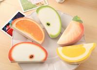 10 Fruit Styles Memo Pad Fruit Note pad Memo pad Note paper ...
