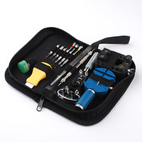 Wholesale 13 Piece Watch Repair Tool Kit Case Opener Spring Bar Watch Case Opener Repair Tools Functional Watch Strap Regulator Kit
