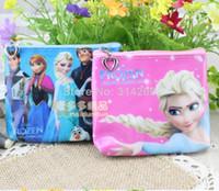 Yes fashion pvc purse - Fashion Frozen Design Kids Cute PVC Waterproof Coin Change Purse Cartoon Cosmetic Bag