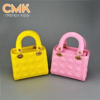 Wholesale CMK KB074 New Arrive Candy Colors Size cm Quilting Children s Handbag Children School Bags for Girls amp Women Mini Messenger Bag for Kids