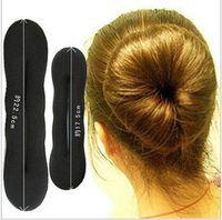 big hot curlers - big size Hot Sale Magic Sponge Hair Styling Bun Maker Twist Curler Tool Hair Roller Sponge twist machine