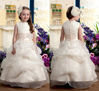 Reference Images Toddler Beads Pretty Great Zipper Ball Gown Organza Ruffles Little Girls Pageant Dress Formal Party Evening Gowns For Kids Flower Girls Gowns