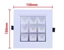 Wholesale price 9W LED Panel Light Square Ceiling Light For Home Light 990lm 85-265V Led Recessed Light Wall Lamp