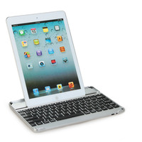 Wholesale Ipadair aluminum bluetooth keyboard lofty double dormancy wireless keyboard