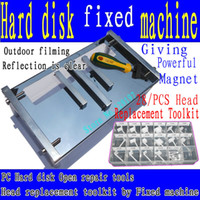 Wholesale PC Hard disk Open repair tools Hard disk fixed machine Head Comb Suite Hard drive head replacement Toolkit
