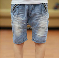 Wholesale Summer Shorts Fashion Jeans Boys Shorts Child Clothing Kids Shorts Boy Pants Child Denim Shorts Children Clothes Kids Pants Children Shorts