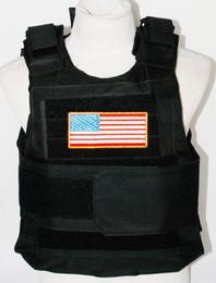 Wholesale TACTICAL AIRSOFT PAINTBALL BODY ARMOR OUTDOOR COMBAT VEST MEN MILITARY BLACK VEST