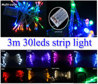 3xAA battery powered MINI FAIRY LIGHTS 3M strip Christmas de...