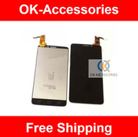 Wholesale Black White For Alcatel One Touch Idol X OT6040 D E A OT D LCD Display Touch Screen PC
