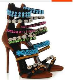 Brand Fashion 2014 Gladiator Women Sandals Designer High Heel Sandal Sexy Cut-out Summer Shoes for Women