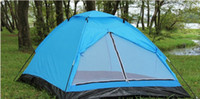Wholesale 2 Person foot x4 foot Outdoor Instant Family Camping Dome Waterproof Tent W1035L