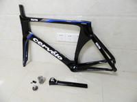 Road Bikes Carbon Fibre 3K Frame cervelo S5 Team VWD Road Carbon Fiber Frame+Fork+Aero Seatpost+Clamp+Headset 48